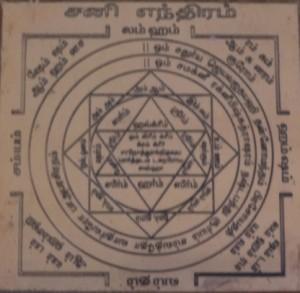 Sani Yantra - Shani Yantra - Saturn Yantra - Navagraha Yantra