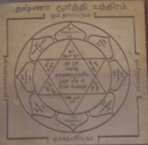 Dakshinamurthy Yantra - Dakshinamurthy Mantra