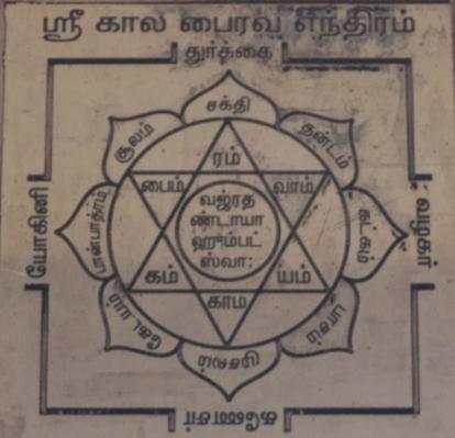Kala bhairava Yantra - Kaal Bhairava Yantra - Bhairava Yantra - Shiva Yantra