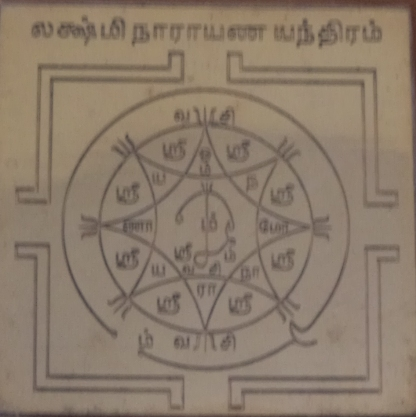 Lakshmi Narayana Yantra - Laxmi Narayana Yantra - Narayana Yantra