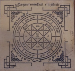 Mahalakshmi Yantra - Mahalaxmi Yantra - Devi Yantra