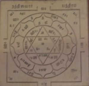 Nandiswara Yantra - Nandeeswara Yantra (Shivan Yantras)