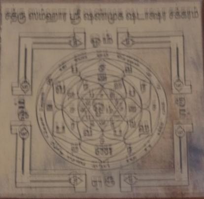 Sathru Chathru Samhara Shanmuga Shadakshara Yantra